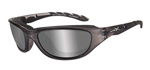 X Gafas de ventisca Wiley de la Control de la colección, Crystal metálico, S-M, 697