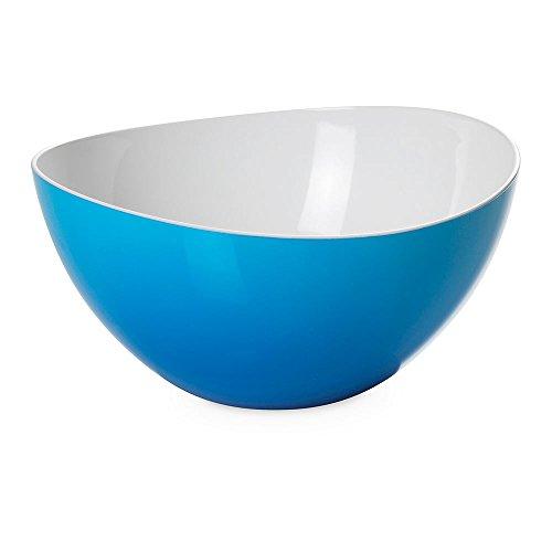 Omada Design Insalatiera, Ciotola per Insalata in Plastica infrangibile, Bicolore di...