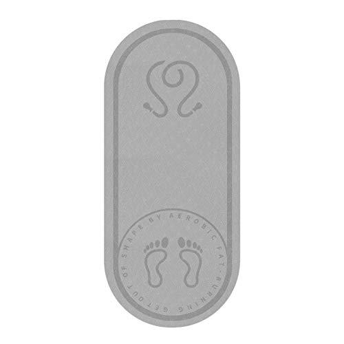 PPuujia Alfombrilla antideslizante para yoga para el piso, gruesa, sin olor, cuerda silenciosa, antideslizante, para entrenamiento, entrenamiento, entrenamiento, fitness, cojín (color: B)