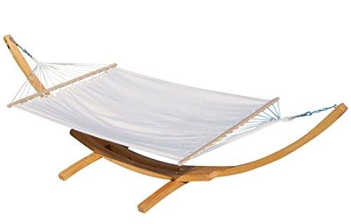 ASS Relax XXL Hamac avec structure en mélèze 410 cm