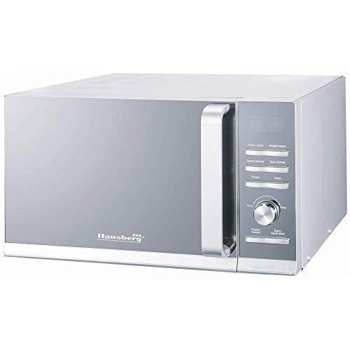 Microondas Hausberg Hb-8009, 1400W, Control Digital, Plata, 25L