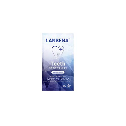 A/H Zahn Bleaching Strips für Weiße Zähne, Zahnaufhellung White Stripes für Weiße Zähne Teeth Whitening Set, ohne Zahnbürste, ohne Zahnpasta (Weiß)