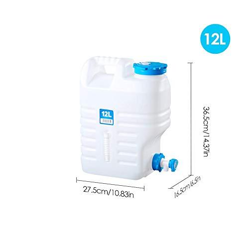 332PageAnn Wasserkanister Faltbar Trinkwasserkanister Tragbare Wasserspender Mit Hahn/Wasserauslauf Für Auto, Im Freien, Camping, 10/12/18L