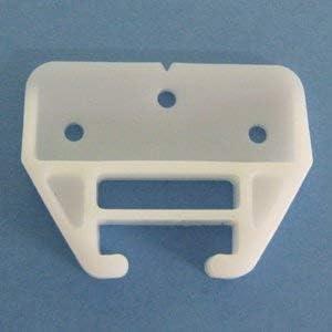 3 x Plastic Drawer Guide Bainbridge 1514 White with USPS Tracking #