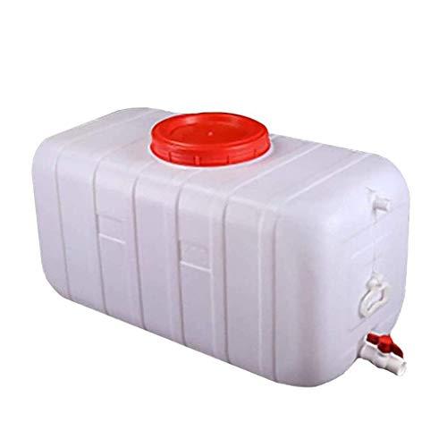 Cubo De Almacenamiento De Agua De Gran Capacidad, con Grifo Y Válvula De Tapa Depósito De Plástico Grande Apto para Alimentos Adecuado para Acampar En El Hogar Al Aire Libre (200L, 300L),300L