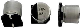20x SMD Electrolitico Condensador 10µF 35V 105°C ; RVZ-35V100ME55U-R2 ; 10uF