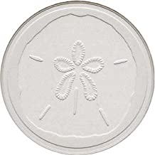 CoasterStone EC900 Absorbent Coasters, 4-1/4-Inch,Sand Dollar, Set of 4
