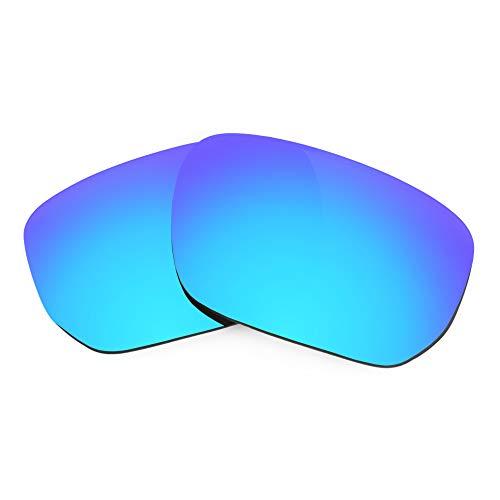 Revant Lentes de Repuesto Compatibles con Gafas de Sol Oakley Style Switch, Polarizados, Azul Hielo MirrorShield
