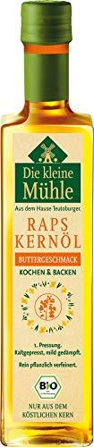 Teutoburger Ölmühle Bio Kl. Mühle Raps-Kernöl BUTTERGESCHMACK 500ml (2 x 500 ml)