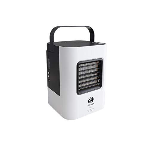 ZEELIY Mini Air Cooler Leakproof LuftküHler Mobile KlimageräTe Klimaanlage Ventilator Cool Air Ventilator,USB Aufladen Tragbar Klimaanlage Klein Luftbefeuchter und Luftreiniger für Sommer