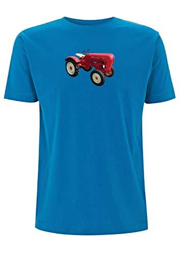 Diesel Super Tractor - Camiseta con diseño de motor refrigerado por aire,...