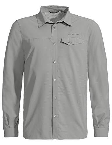 VAUDE Herren Hemd Men's Rosemoor LS Shirt, dove, 52, 413217395400