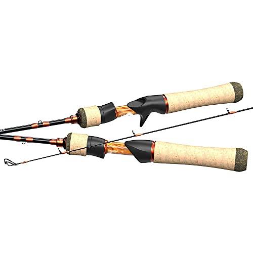 DYXYH Sistema De Cebo Spinning Casting Caña De Pescar Fibra De Carbono 2 Piezas 1.53-1.8m 1-8g para Pescar (Size : Casting (1.80m-UL))