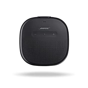 Bose SoundLink Micro  Small Portable Bluetooth Speaker  Waterproof  Black