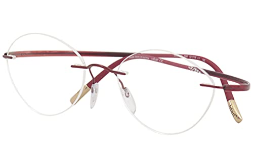 Eyeglasses Silhouette Essence (5523) 3040 Red 52/19/145 3 piece frame chassis