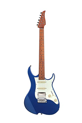 Vola MIJ - Guitarra eléctrica Vola OZ RMN V3 Cobra Blue Metallic...