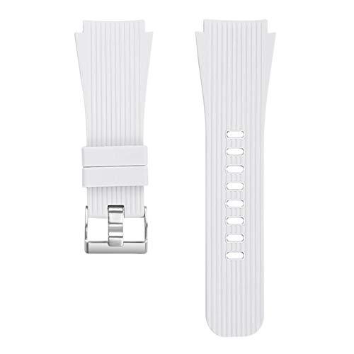ZHONGGOZZ Correa de Silicona para Samsung Galaxy Watch 46mm Gear S3 Classic Frontier Frontera Reemplazo de Relojes de Relojes para Galaxy Watch 46mm 22mm