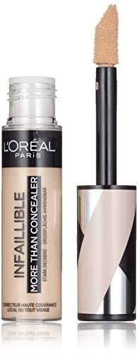 L'Oréal Paris - Correcteur et Fond de Teint 2 en 1 - Infaillible More Than Concealer - Teinte : Avoine (324) - 11 ml