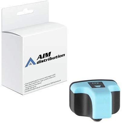 AIM Compatible Replacement for HP NO. 02 Light Cyan Inkjet (240 Page Yield) (CB283W) - Generic