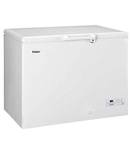 Haier HCE319R Independiente Baúl 319L A+ Blanco - Congelador (Baúl, 319 L, 21 kg/24h, SN-T, Sistema de descongelado, A+)