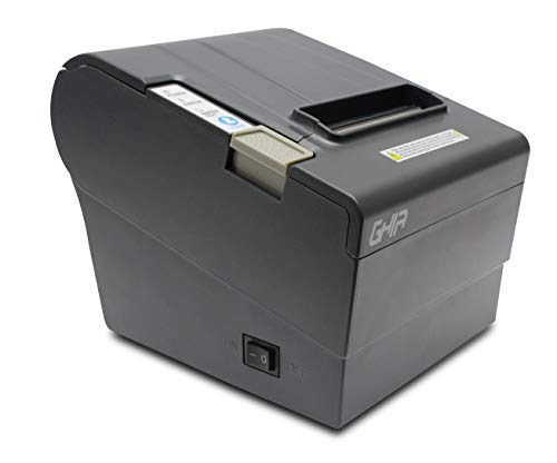 GHIA PR-2033 Impresora de Tickets, Térmica, 80 mm, 203dpi, USB, Ethernet, Negro