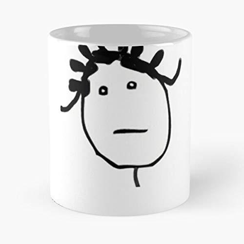 Lapuan Kankurit Music Icon Rihanna Merch Singer White Instagram Black La Mejor Taza de café de cerámica Blanca de 11 oz