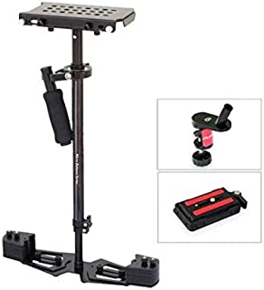 FLYCAM HD-5000 Video DSLR Camera Stabilizer   Handheld Steadycam   Quick Release + Table Clamp (FLCM-HD-5-QT) for Arm Brac...