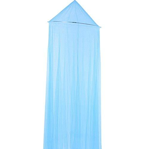 Piner roze romantische klamboe voor meisjes babyluifel klamboe voor tweepersoonsbed muggenspray tent gordijn bed tent, donkerblauw