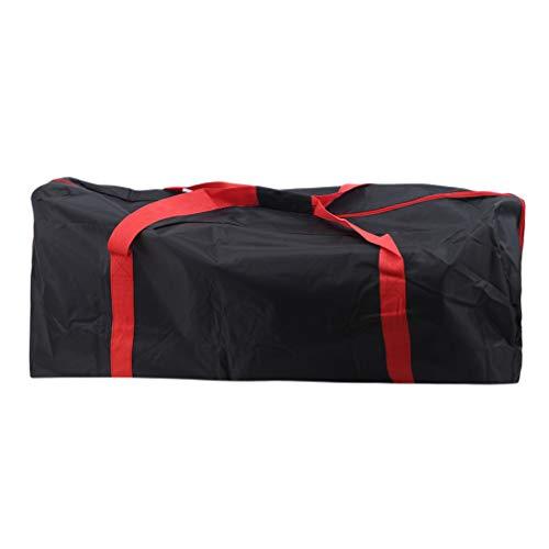 Yeucan Oxford Tuch Scooter Bag Tragetasche Elektro-Skateboard-Tasche Reißfeste Tragetasche,Rote Schleife