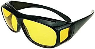 Unisex Night Optic Vision Driving Anti Glare HD UV Protection Sunglasses