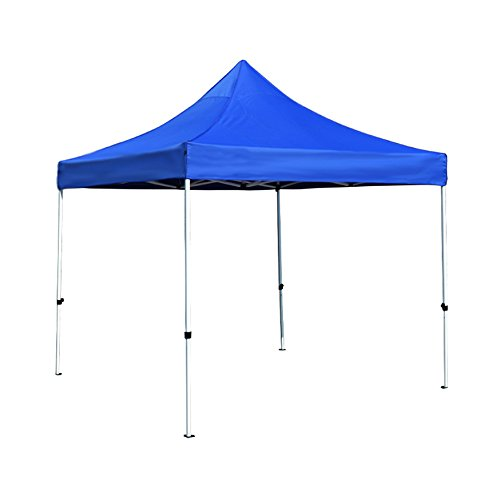 Bâches de protection Auvent extérieur abri de Parking Plage Protection Solaire Tente UV Stall (Color : Blue, Size : 120cm(47.2 inches))