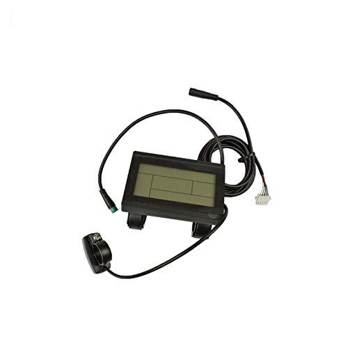 KXLB Kxlbhjxb 24V 36V 48V Panel de Control Negro Inteligente LCD Pantalla LCD Bicicleta eléctrica Piezas del Controlador KT Accesorios para Bicicletas