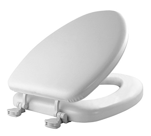 Mayfair 113EC 000 Soft Toilet Seat, 1 Pack Elongated, White