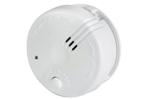 mercury 350.127UK Mini Photoelectric Smoke Detector, White, Small