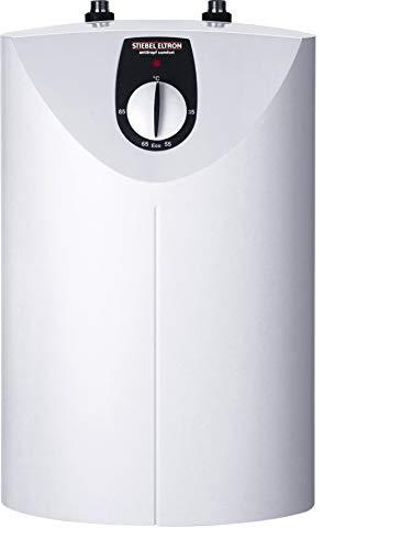 STIEBEL ELTRON druckloser Kleinspeicher SNU 5 SL, 2 kW, 5 l, Antitropf-Funktion, Thermostop-Funktion, Untertisch, stufenlose Temperaturwahl, 221115