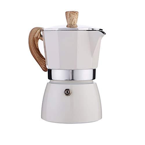 JIAOAOO Cafetera Italiana Clásica, Cafetera Europea de Aluminio, Cafetera, Cafetera, Cafetera Tradicional Casera, 150/300 Ml