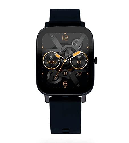 Reloj Smart de Radiant. Colección Palm Beach. Reloj con Correa de Silicona Negra y Caja a Tono. 35,6mm de Ancho. IP67. Referencia RAS10301.