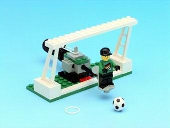 LEGO 3413 - Fussball-Tor mit Torwart von 2000