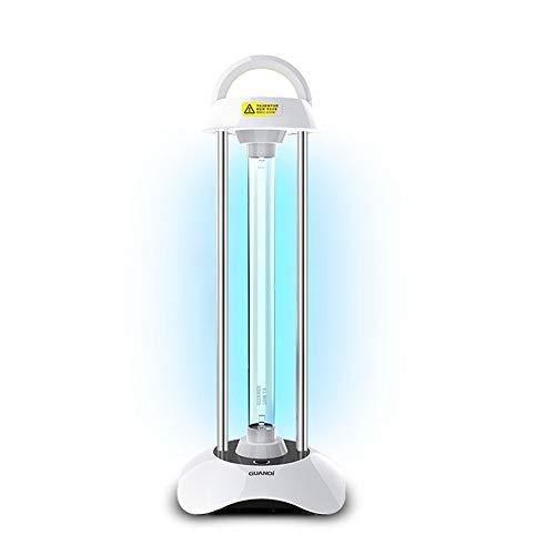 YUANJJ Lámpara De Desinfección UV Móvil, Lámpara Germicida De Ozono para El Hogar, Lámpara De Eliminación De Ácaros Esterilizada Médica,Germicida Ultravioleta, Esterilización 99.99%