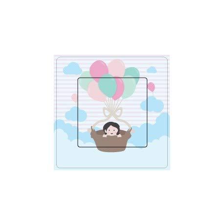 Baby und Luftballons, selbstklebend, für Schalter