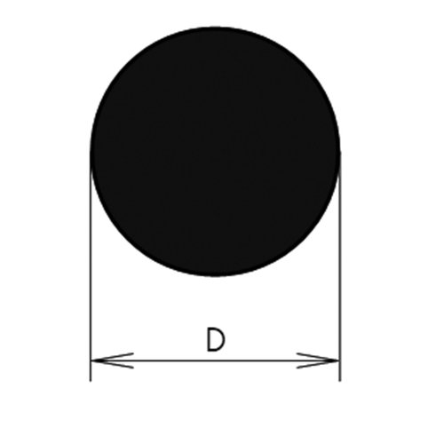 Thomafluid Rundschnur aus Silikon - Pharma, Außen-Ø: 3 mm, 10 m