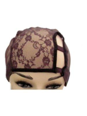 Small Black Left U Part Wig Cap bonnet pour perruque. chapeau pour le tissage. filet pour tissage. avec peigne pour with Adjustable Band. Different durable nets/...