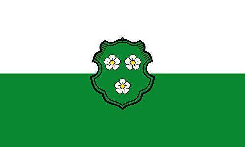 Unbekannt magFlags Tisch-Fahne/Tisch-Flagge: Au i.d.Hallertau, M 15x25cm inkl. Tisch-Ständer