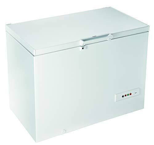Hotpoint CS1A 300 H, Congelatore Orizziontale, Libera Installazione, 312L, A+, 42 dB, Bianco