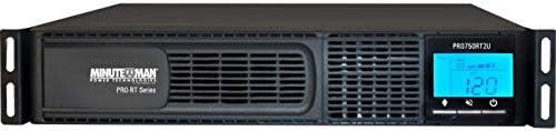 Minuteman/Para Systems - PRO750RT2U - 750va Ups Avr Rack/tower 750va/525w Lcd Display 3yr Warr