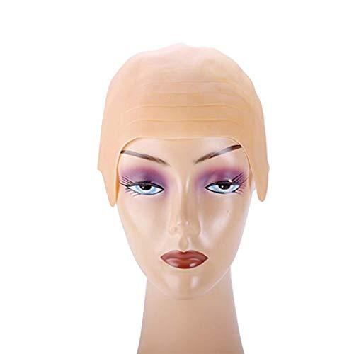 Cap Cabeza Conijiwadi látex Calvo Puntales Skinhead Peluca decoración Herramienta del Partido de Cosplay del Traje de Halloween de Accesorios Headwear