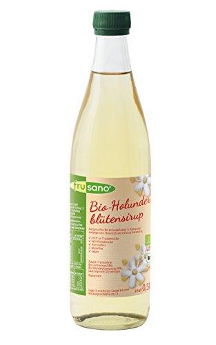 Frusano Bio Holunderblüten-Sirup, 3er Pack (3 x 500 ml)