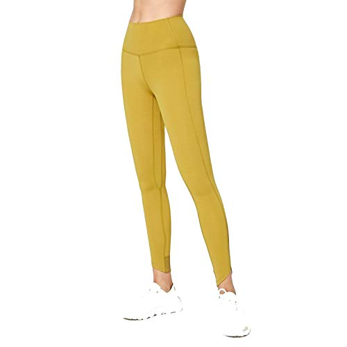 LBBL Tights Leggings, Women's Buttery Soft Yoga Running Jogger Pants With Side Pockets Naked Feeling Drawstring Workout Training Pants Tights Leggings (Color : B, Size : Medium)