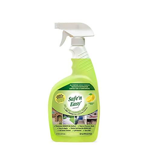 Safe 'n Easy All Green Masonry Cleaner Countertops, Granite, Marble, Limestone, Bricks, Fireplaces, Stucco, Pavers, Patios, , Driveways, Garage Floors. Safe Biodegradable (22oz)