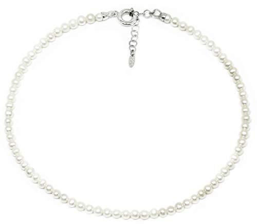 Collana Perle di Fiume Argento 925‰